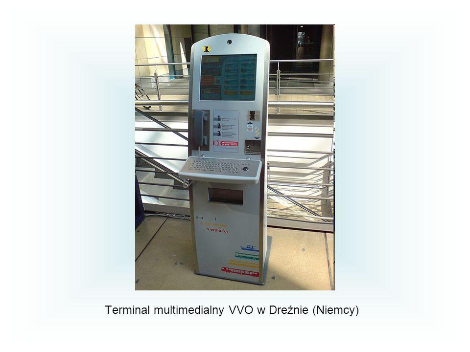 Terminal multimedialny VVO w Dreźnie (Niemcy)