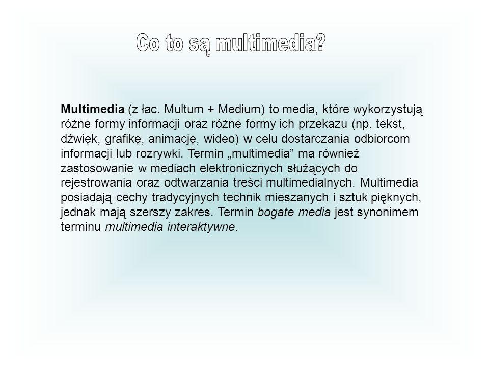 Multimedia (z łac.