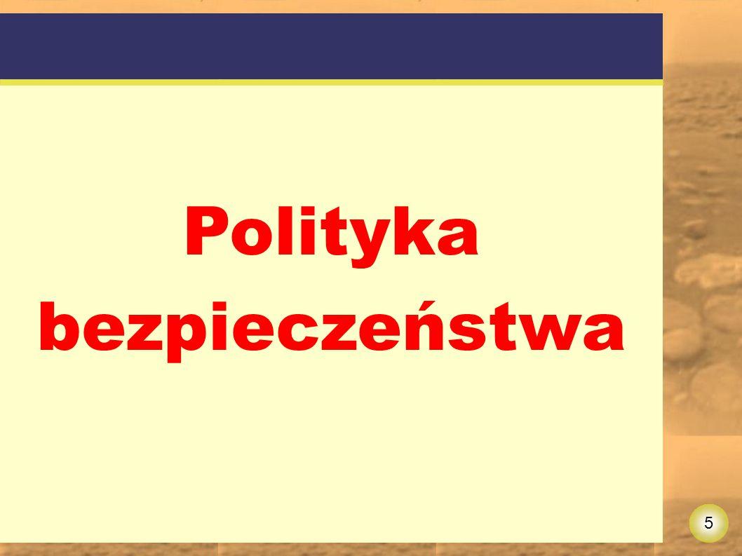 5 Polityka bezpieczeństwa