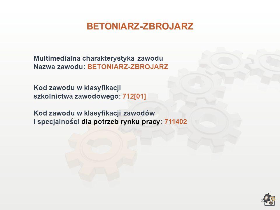 BETONIARZ-ZBROJARZ wersja dla gimnazjum i szkół ponadgimnazjalnych