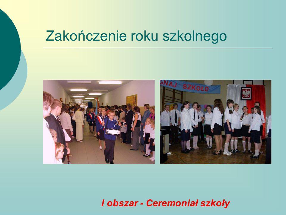 II obszar - Patron szkoły  Święto szkoły  Współpraca ze szkołami w ramach Podkarpackiego Stowarzyszenia Szkół noszących im.