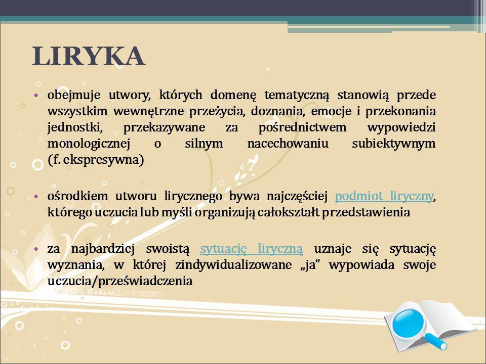 BIBLIOGRAFIA: 1.M.Głowiński, T. Kostkiewiczowa, A.