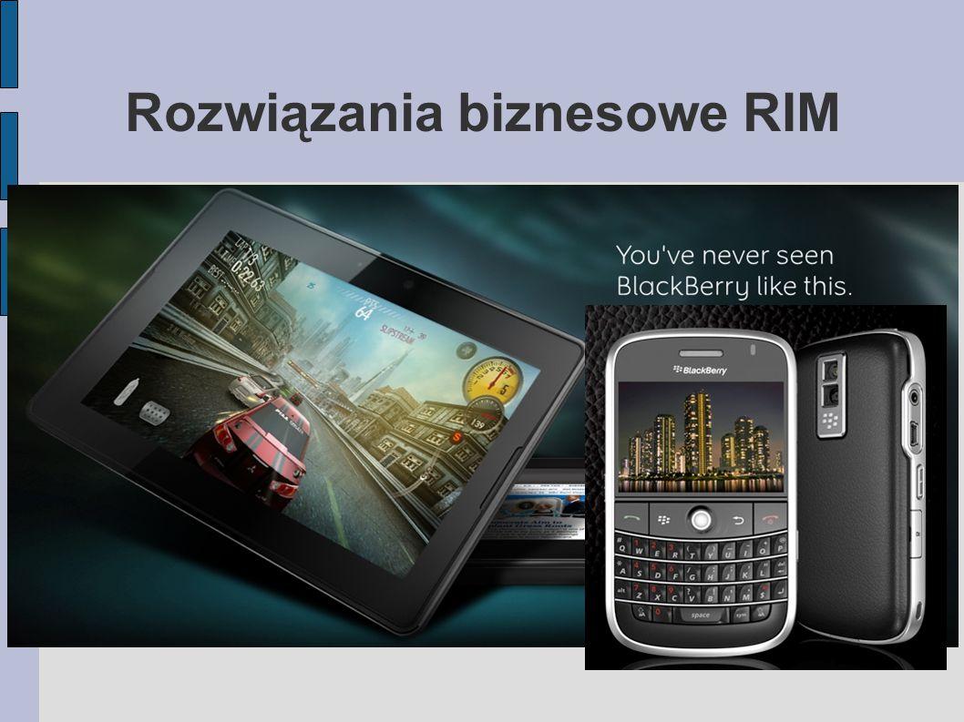 Czym jest RIM.kanadyjska firma Research In Motion założona w 1984 roku w Waterloo.