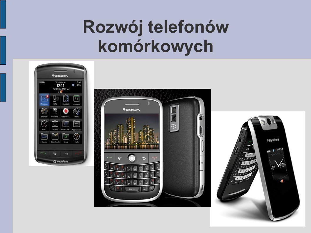 Rozwój telefonów komórkowych