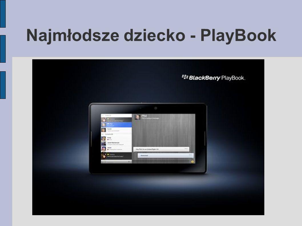 Najmłodsze dziecko - PlayBook