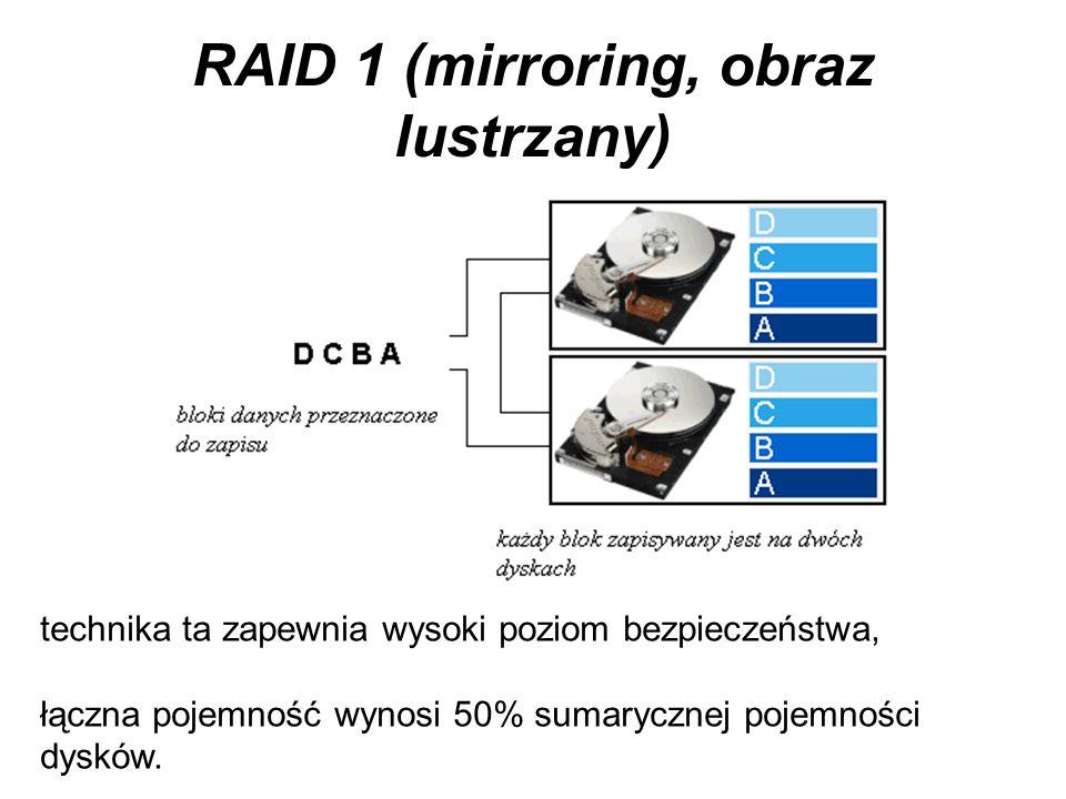 RAID 0 przy większej liczbie dysków