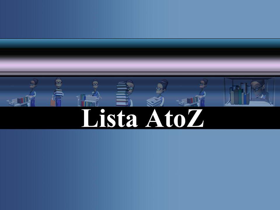 Lista AtoZ