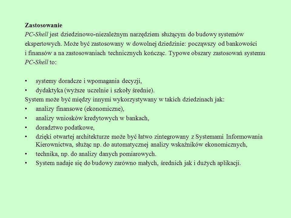 Język systemu JESS można również wykorzystać w kodzię JAVY.