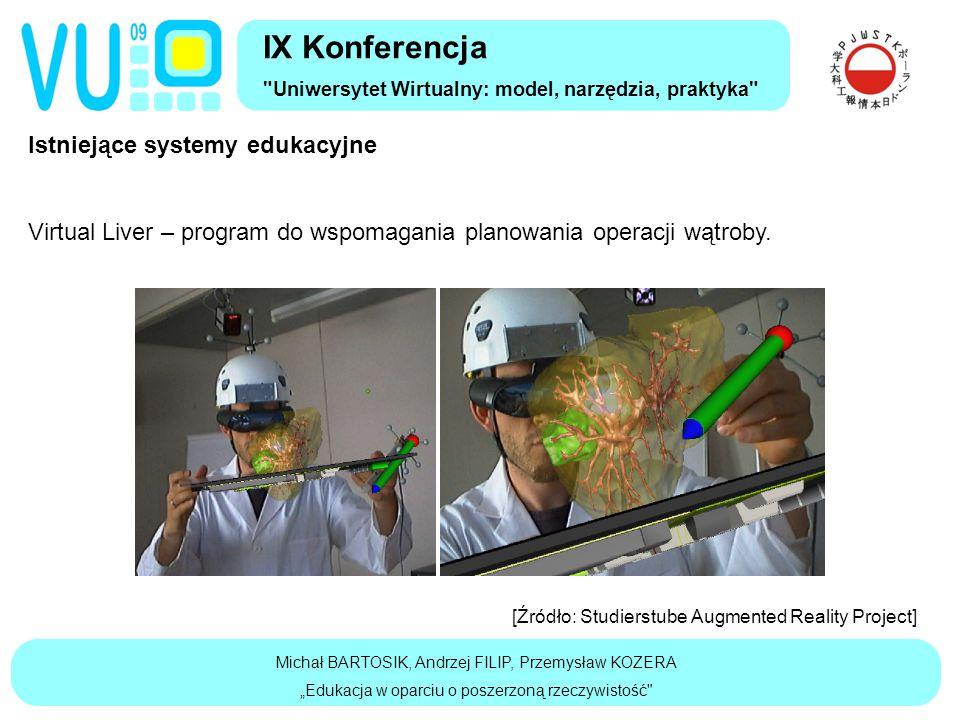 Istniejące systemy edukacyjne Virtual Liver – program do wspomagania planowania operacji wątroby.