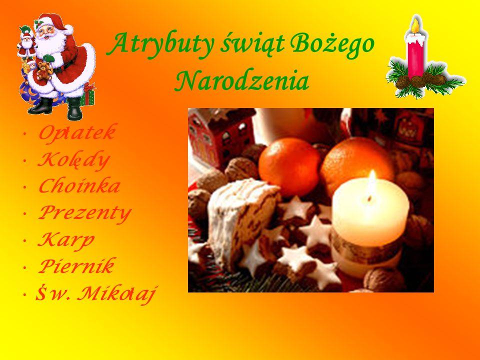DZIELENIE SI Ę OP Ł ATKIEM Najważniejszym i najbardziej wzruszającym momentem Bożego Narodzenia jest dzielenie się opłatkiem.