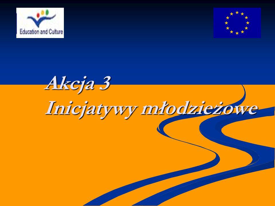 Akcja 3 Inicjatywy młodzieżowe