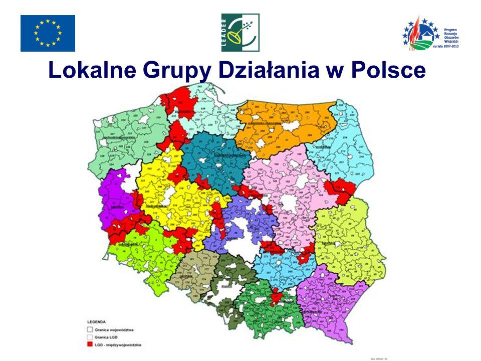 Lokalne Grupy Działania w Polsce