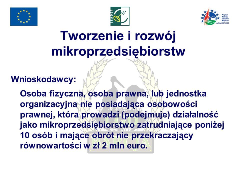 Różnicowanie w kierunku działalności nierolniczej Wnioskodawcy: Osoba fizyczna ubezpieczona na podstawie ustawy z dnia 20 grudnia 1990 r.