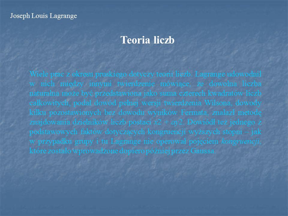 Teoria liczb Wiele prac z okresu pruskiego dotyczy teorii liczb.