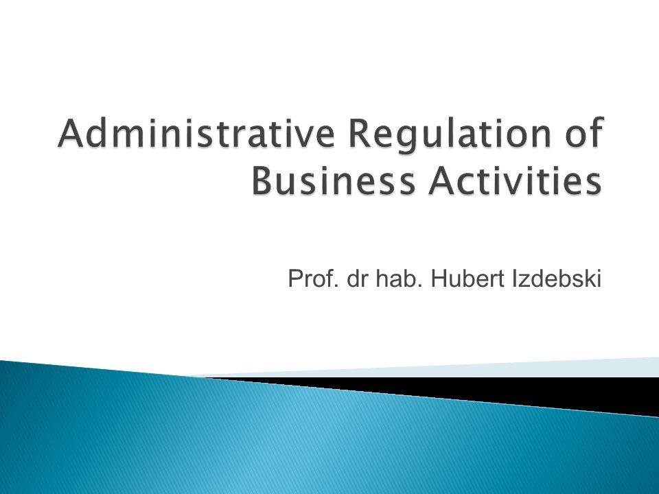 Prof. dr hab. Hubert Izdebski