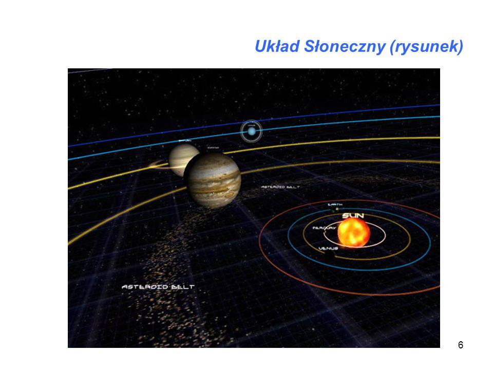 6 Układ Słoneczny (rysunek)