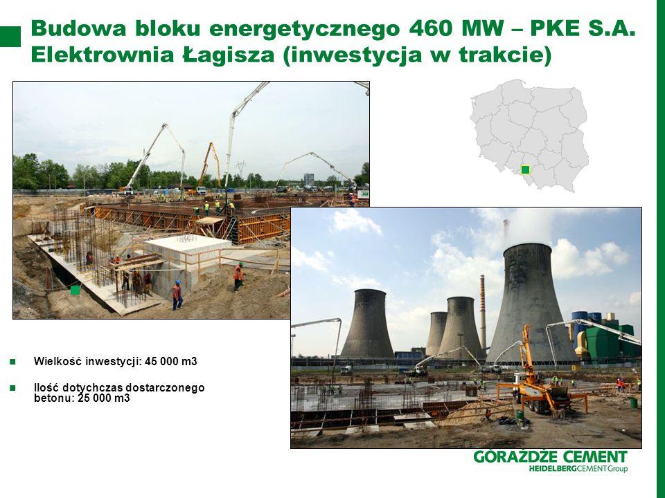 Budowa bloku energetycznego 460 MW – PKE S.A.