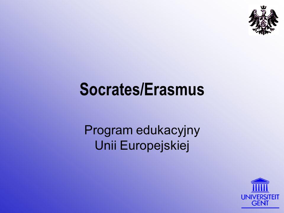 Socrates/Erasmus Program edukacyjny Unii Europejskiej