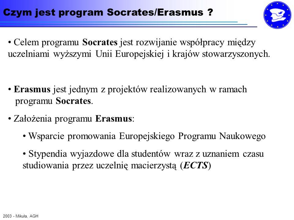 Czym jest program Socrates/Erasmus .