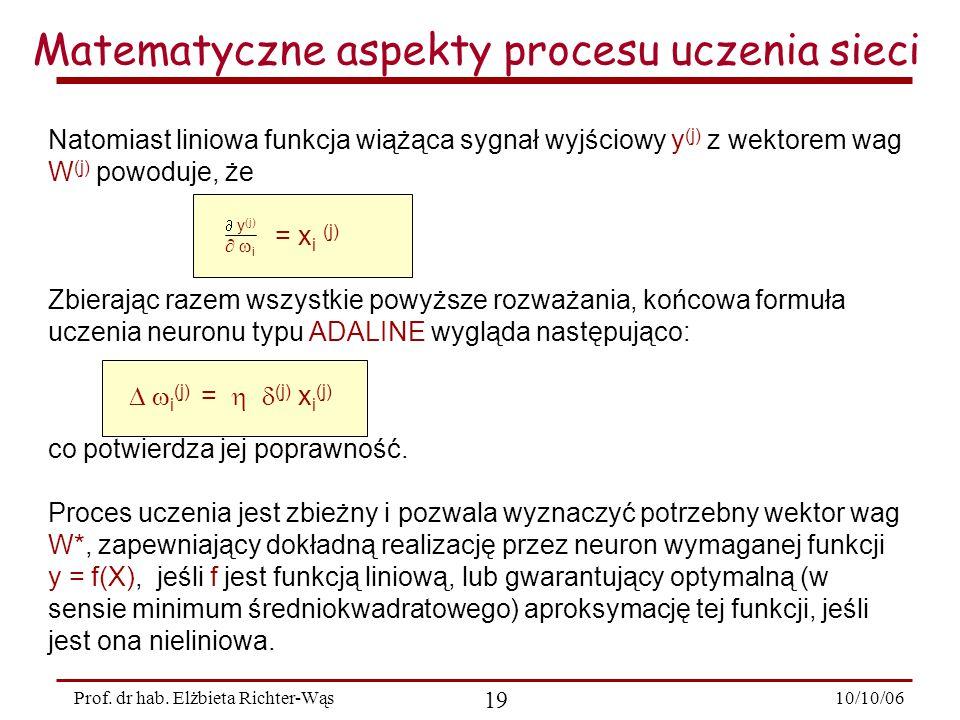 10/10/06 19 Prof.dr hab.