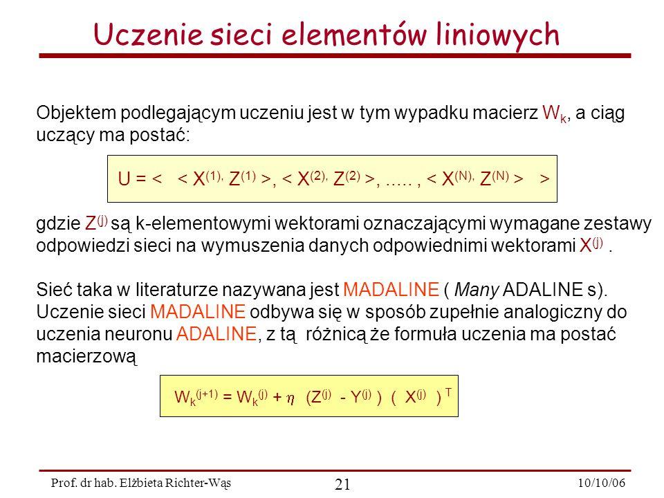 10/10/06 21 Prof.dr hab.