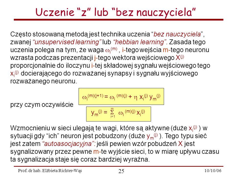 10/10/06 25 Prof.dr hab.