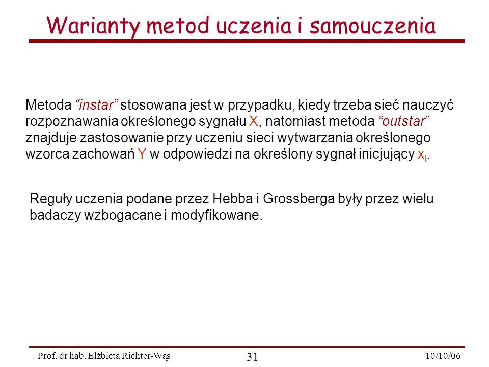 10/10/06 31 Prof.dr hab.