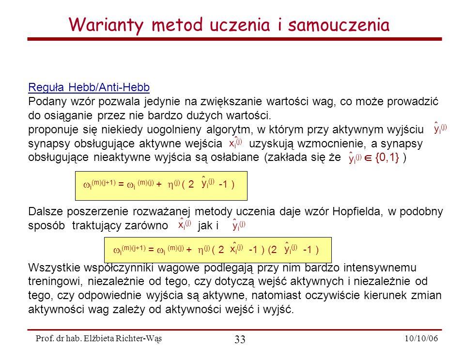 10/10/06 33 Prof.dr hab.