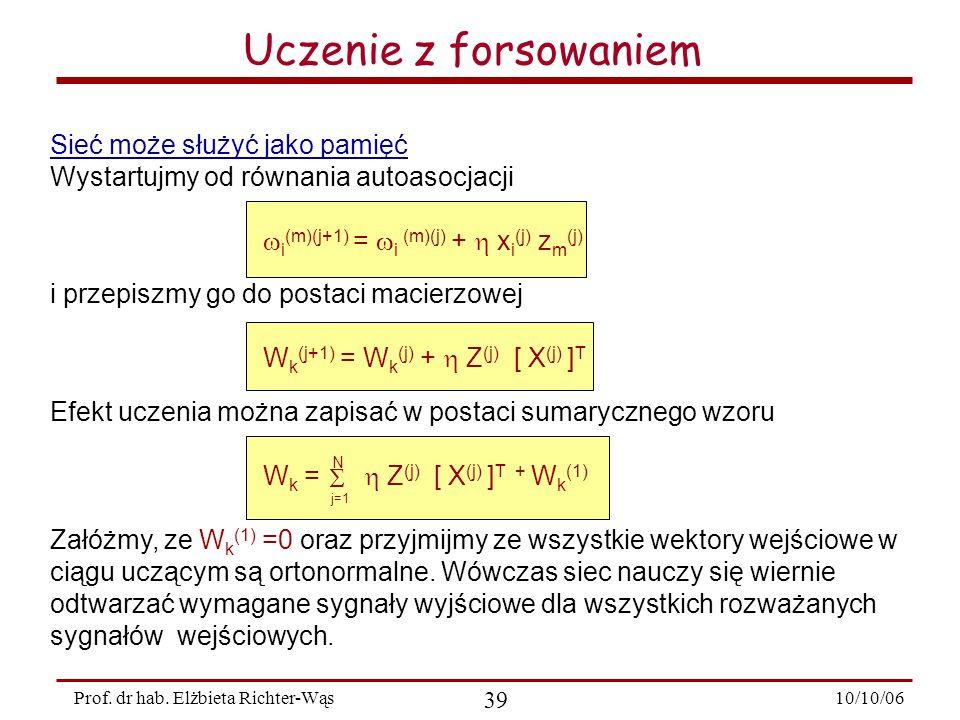 10/10/06 39 Prof.dr hab.