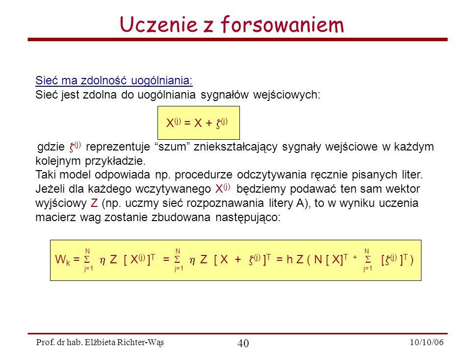 10/10/06 40 Prof.dr hab.