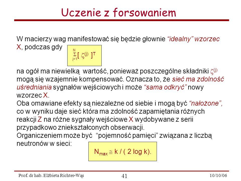 10/10/06 41 Prof.dr hab.