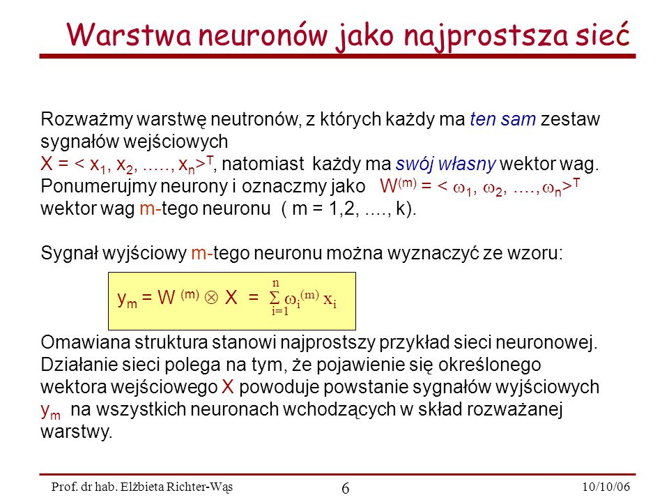 10/10/06 6 Prof.dr hab.