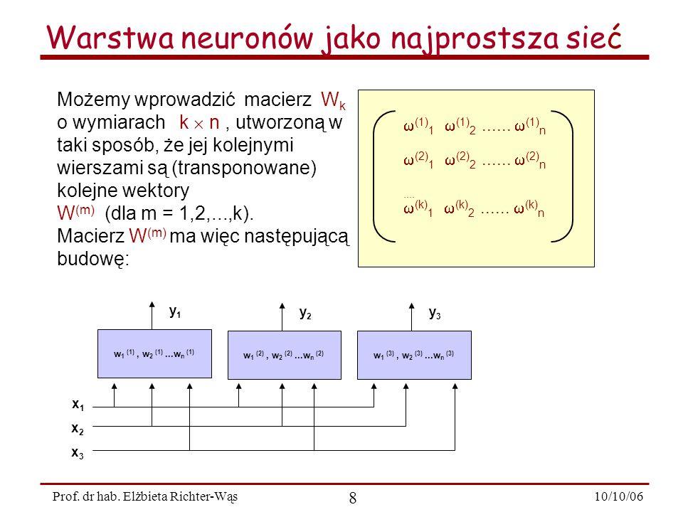 10/10/06 9 Prof.dr hab.