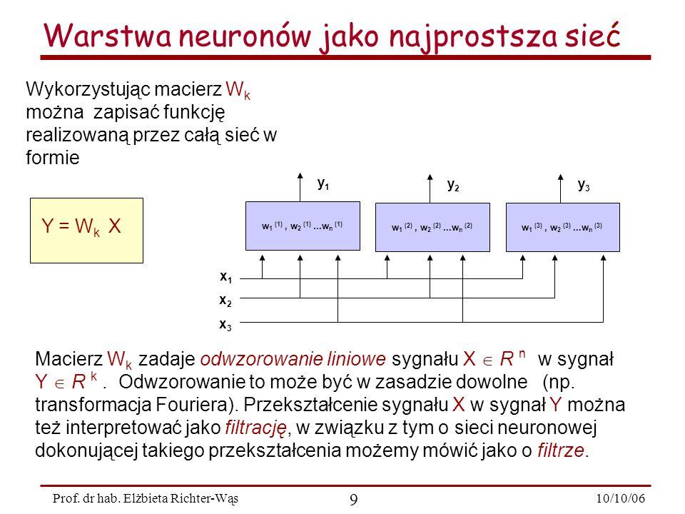 10/10/06 30 Prof.dr hab.