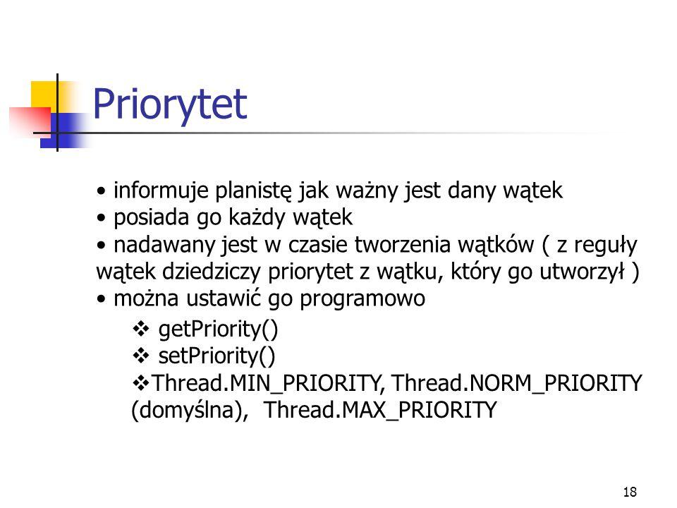 19 Planista wątków (ang.