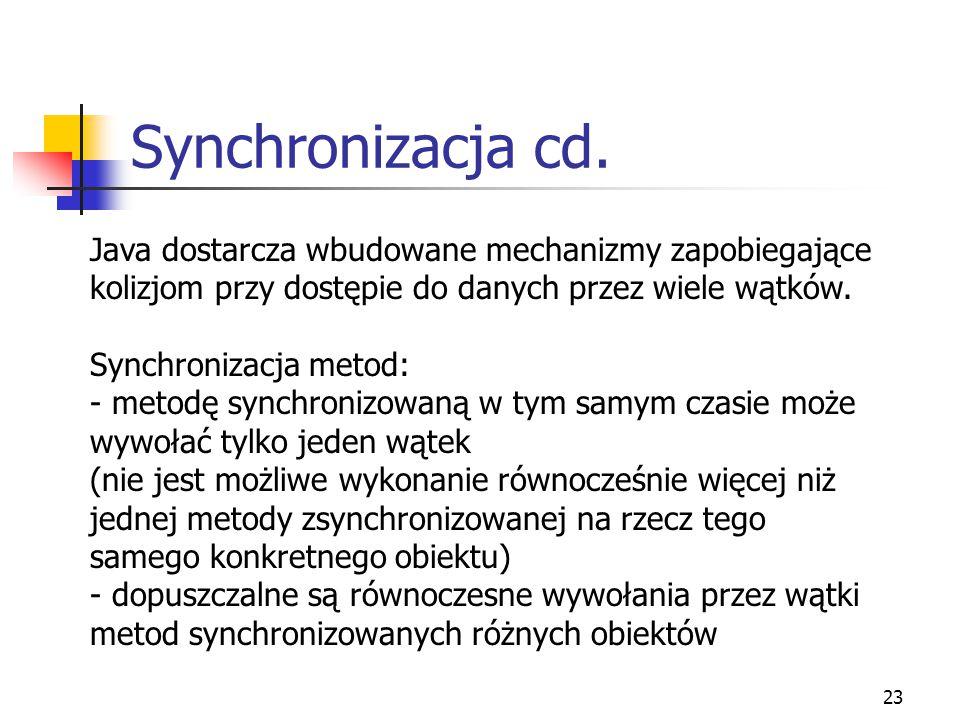 24 Synchronizacja cd.