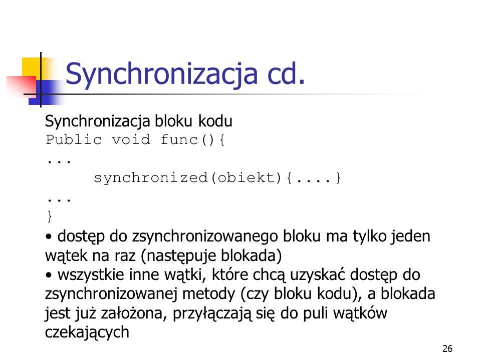 27 Synchronizacja cd.