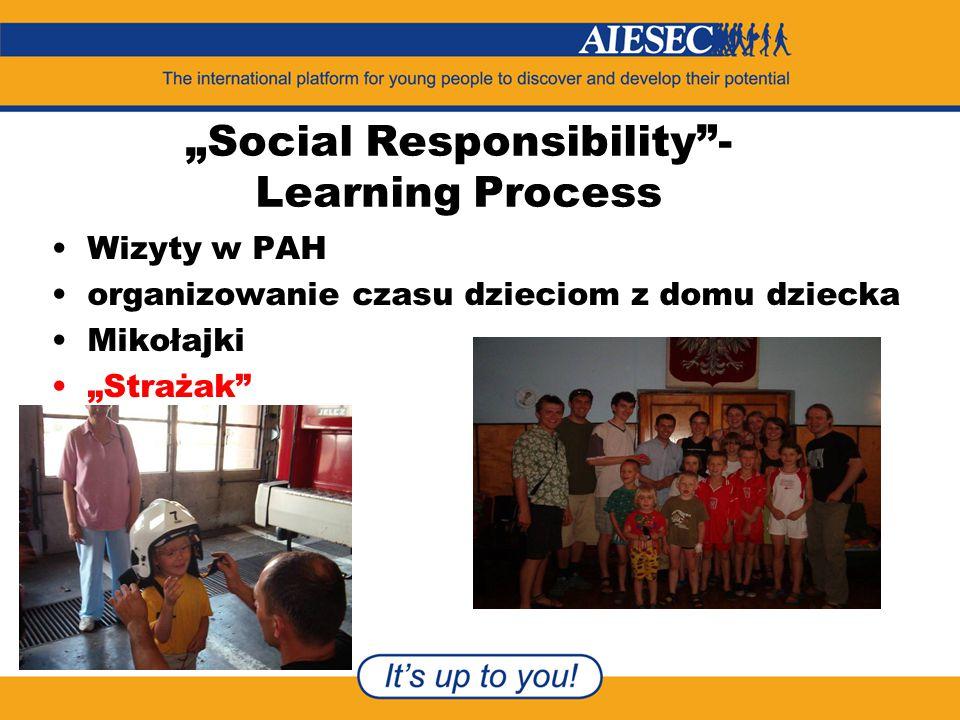 """""""Social Responsibility - Learning Process Wizyty w PAH organizowanie czasu dzieciom z domu dziecka Mikołajki """"Strażak"""