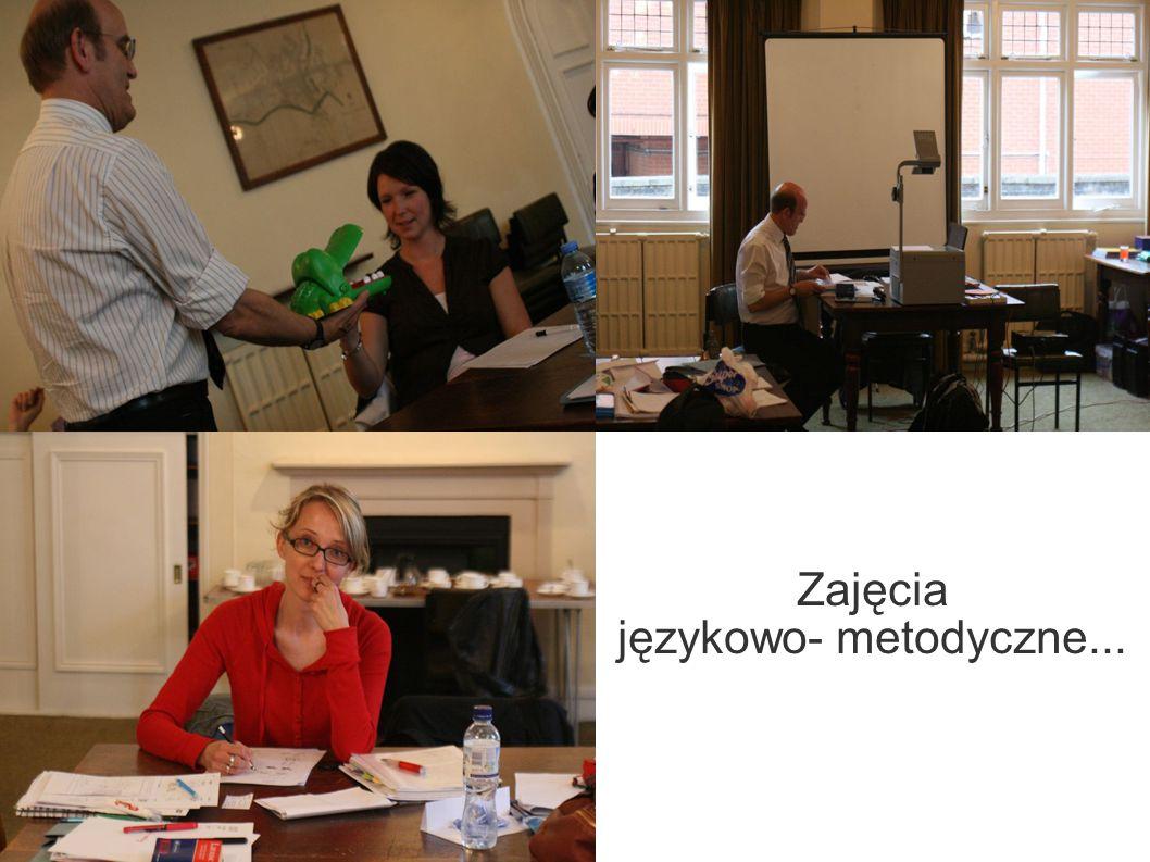Zajęcia językowo- metodyczne...
