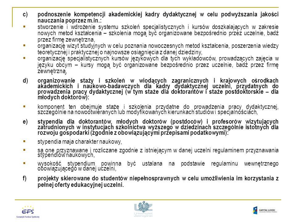 1/POKL/4.1.1/2009 (Plan Działania A1) Wymagania konkursowe 2/POKL/4.1.1/2009 (Plan Działania A2) Wymagania dotyczące grupy docelowej Projekty realizowane w ramach Poddziałania 4.1.1.