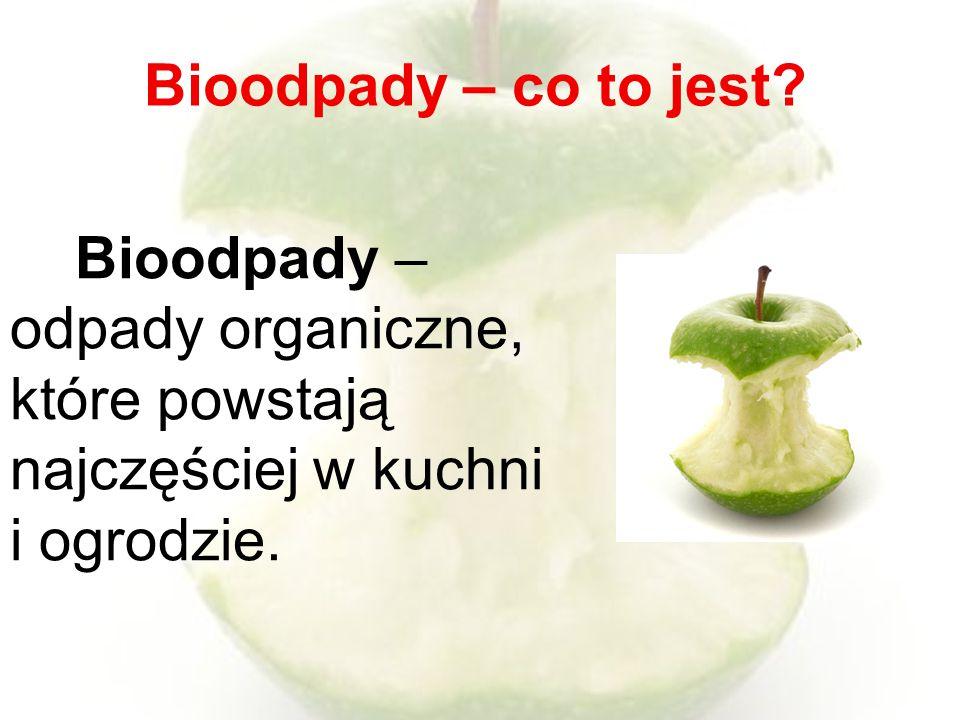 Bioodpady – co to jest.