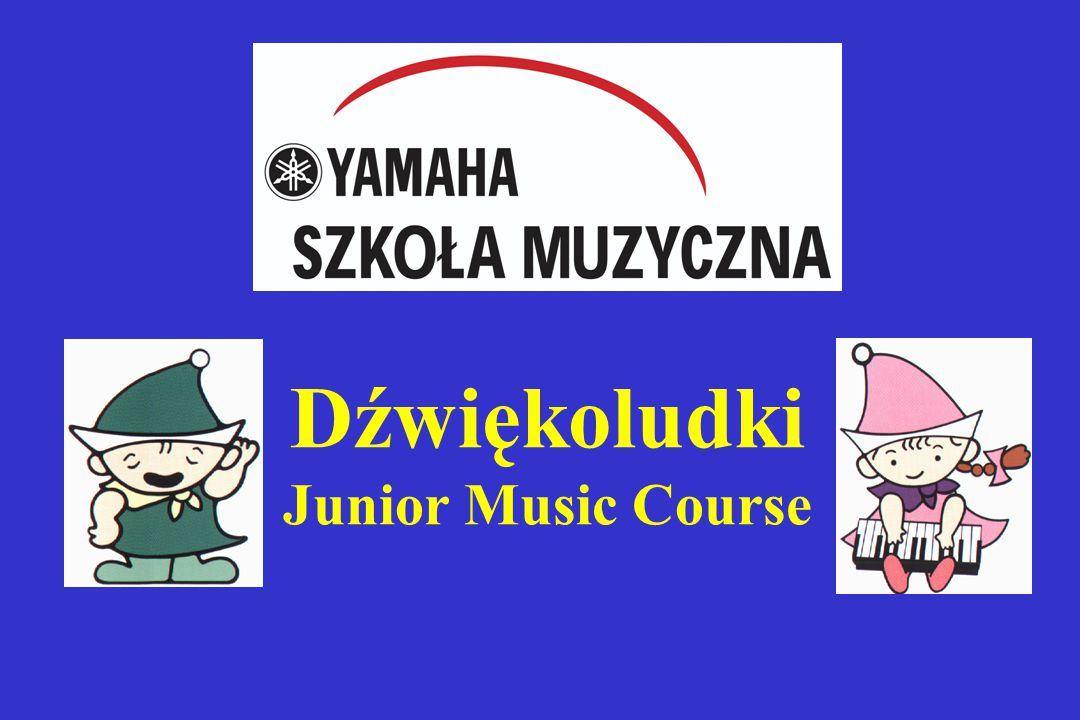 Dźwiękoludki Junior Music Course