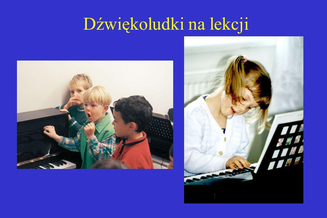 Dźwiękoludki na lekcji