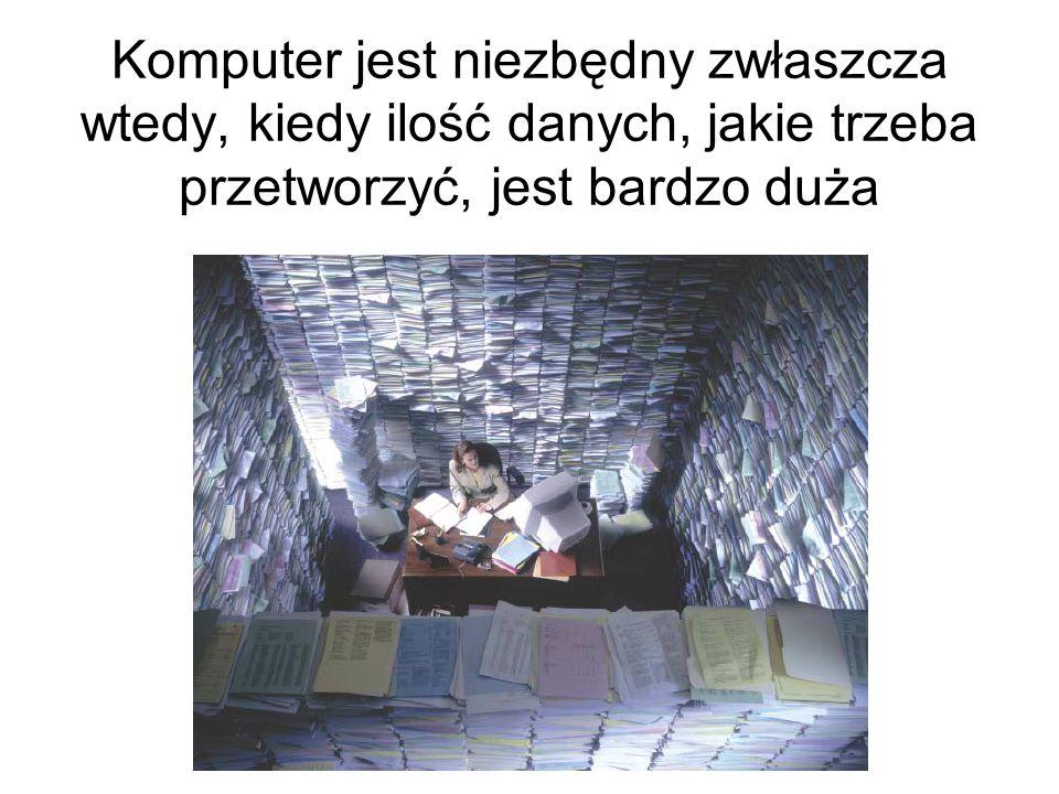 można bez komputera.