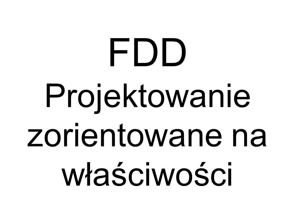 FDD Projektowanie zorientowane na właściwości