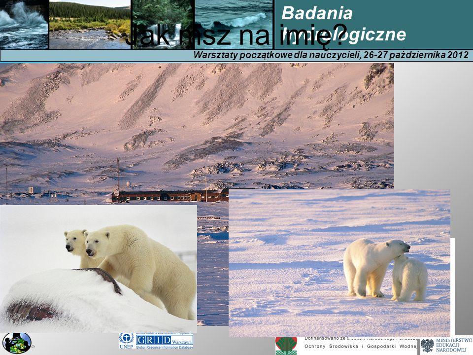 Warsztaty początkowe dla nauczycieli, 26-27 października 2012 Badania hydrologiczne Hydrologia (z gr.
