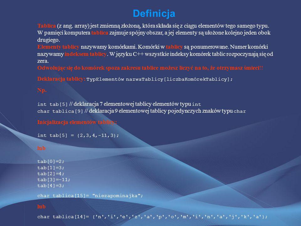 Zadanie 1 Napisz program w C++, który zrealizuje następujace zadania: 1.Wczytaj dowolną liczbę całkowitą n>0.