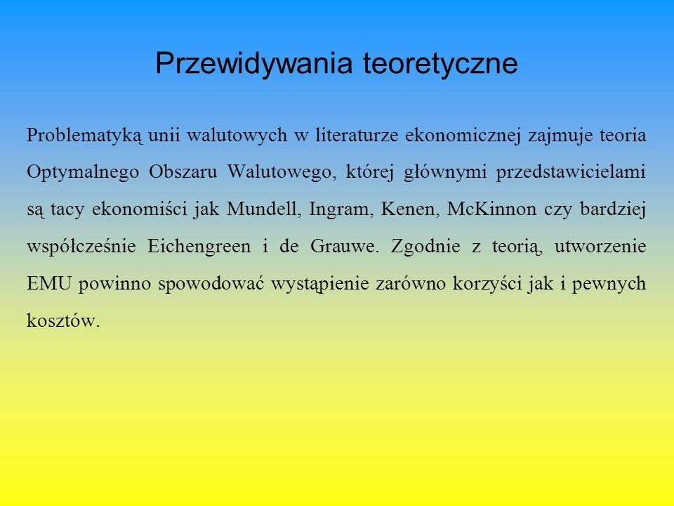 Potencjalne koszty związane z wprowadzeniem euro w Polsce Do najważniejszych kosztów zaliczyć należy przede wszystkim utratę możliwości prowadzenia niezależnej polityki monetarnej.