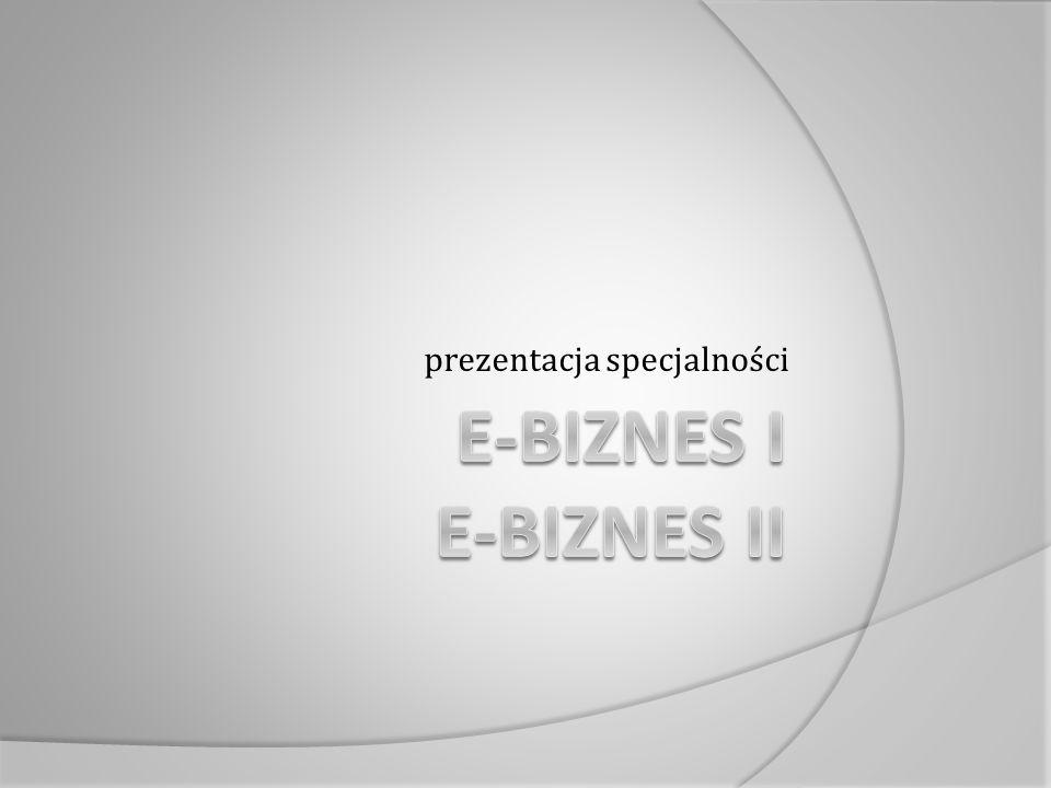 prezentacja specjalności