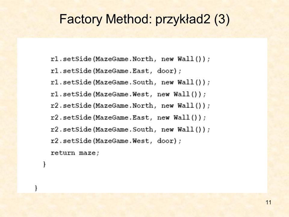 11 Factory Method: przykład2 (3)